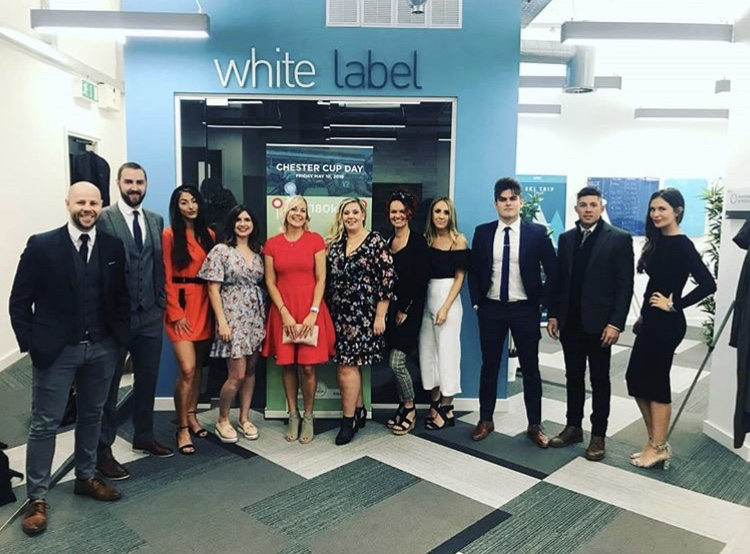 Races Sales Day at White Label Recruitment