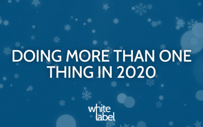 Doing More Than One Thing In 2020